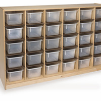Whitney Brothers 30 Tray Storage Cabinet WB3230