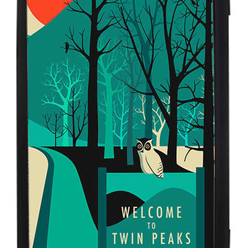 Twin Peaks Welcome To Twin Peaks Samsung Galaxy S3 Cases - Hard Plastic, Rubber Case
