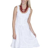 Scully Sleeveless Dress 100% Peruvian Cotton