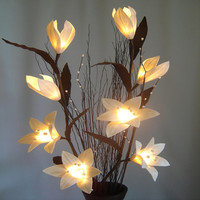 Handmade Lilly Lighting Flower Tree Branch