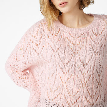 Knit sweater - Pink perfection - Knitwear - Monki GB