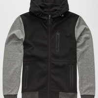 Brooklyn Cloth Break Down Mens Hoodie Black  In Sizes
