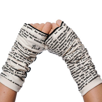 The Great Gatsby Writing Gloves