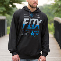 Fox Racing Escaped Pullover Fleece Hoody for Men 16685-001