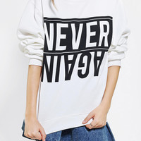 Urban Outfitters - Obesity + Speed X UO Never Again Pullover Sweatshirt