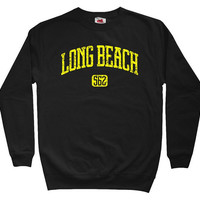 Long Beach 562 Sweatshirt - California - Size S to 3XL - Black, Gray, Navy or Charcoal