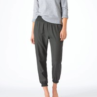 Aerie Day-to-Night Silky Pant, Stone | Aerie for American Eagle