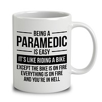Being A Paramedic
