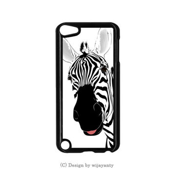 Zebra Animal Cool iPod Touch 4 Case Wijayanty.com