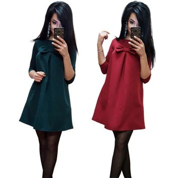 2019 New Arrival Spring Autumn Women Sexy Black Crochet Lace Long Sleeve Loose Shift Dress Female Patchwork Straight Dresses
