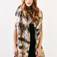 Avant Garde Brushed Knit Scarf - Urban Outfitters