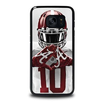 alabama tide bama football samsung galaxy s7 edge case cover  number 1