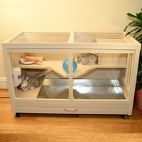 New Age Pet Park Ave EcoFlex Indoor Small Animal Hutch - Walmart.com