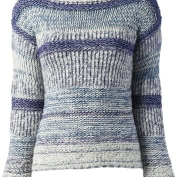 Isabel Marant Étoile 'Pit Shepard' Knitted Textured Sweater