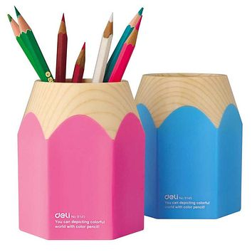 Big pencil sharp pen holder Desk organizer