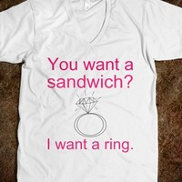 I want a ring