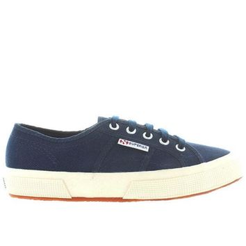 1f7f19dd3fe CREYONIG Superga 2750 COTU Classic - Navy Canvas Lace-Up Sneaker