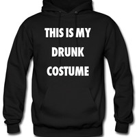 This Is My Drunk Costume Hoodie