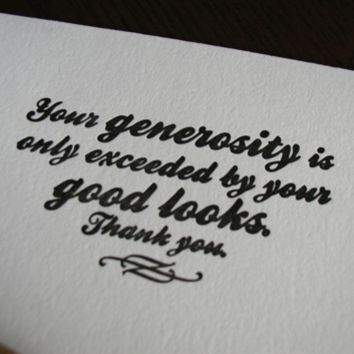 Supermarket: funny thank you card from creativity