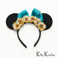 Pocahontas Mouse Ears Inspired Headband, Pocahontas Dress, Pocahontas Costume, Disney Headband, Disney Costume, Disney Bound, Disney Wedding