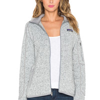 Patagonia Better Sweater Jacket in Birch White