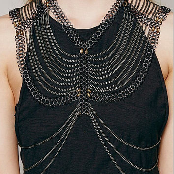 Vintage Vibration Layer Necklace