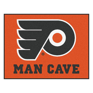 Philadelphia Flyers NHL Man Cave All-Star Floor Mat (34in x 45in)