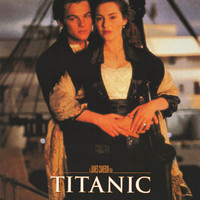 Titanic Jack and Rose Embrace Movie Poster 23x33