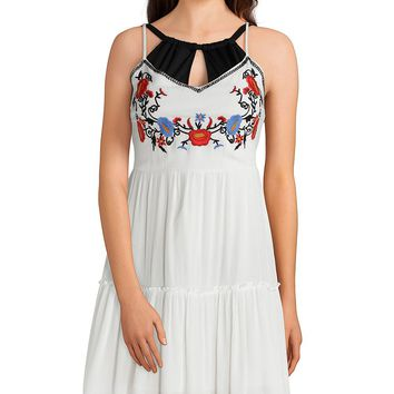 Gibson & Latimer Solid Embroidered Dress Coverup | Dillard's