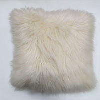 Artic fur white cushion | Walmart.ca
