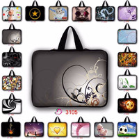 customize 7 9.7 11.6 13.3 14.6 15.6 17.3 print laptop bag pouch sleeve case notebook handbag for macbook air 15 case LB-3105
