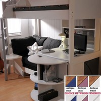 Stompa Casa 4 High Sleeper Bed