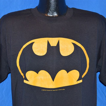 80s NEW Batman Movie Logo t-shirt Extra-Large