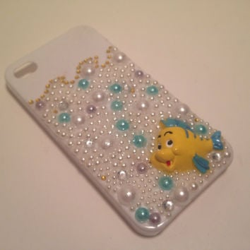 Little Mermaid Phone Case by byElizabethSwan on Etsy