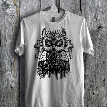 BMTH Owl Tee - zzzF Unisex Tees For Man And Woman / T-Shirts / Custom T-Shirts / Tee / T-Shirt