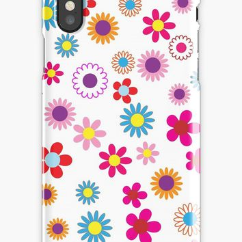 'Floral Decor' Coque et skin iPhone by Creative-World