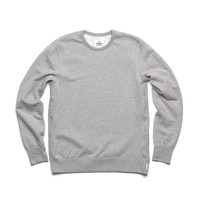 CREW NECK - HEATHER GREY | Reigning Champ