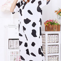Cow Animal Adult Spring and Summer Kigurumi Onesuit
