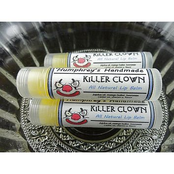 KILLER CLOWN Lip Balm | Cotton Candy Flavor