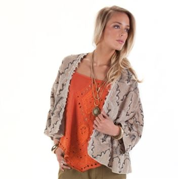 Free People Women's Contemporary Butterfly Kimono Cardigan at Von Maur