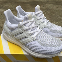 ADIDAS untrl boost Women Running Sport Casual Shoes Sneakers (White)