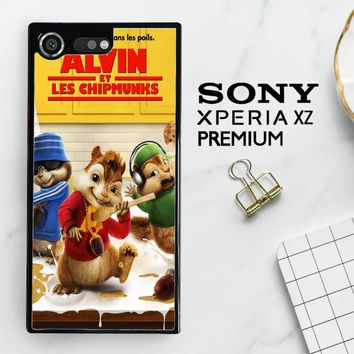 Alvin And The Chipmunks Y0710 Sony Xperia XZ Premium Case