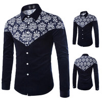 Urban Men Style Printed Shirt