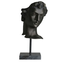 Bronze Head Statue | Eichholtz David