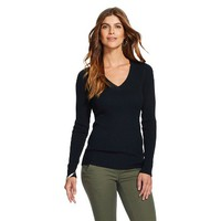 Women's V-Neck Ribbed Sweater - Merona™