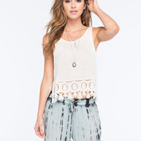 Others Follow Haven Womens Cami Cream  In Sizes