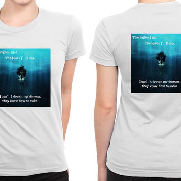 Bring Me To The Horizon Bmth Fahion B 2 Sided Womens T Shirt