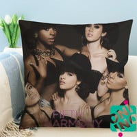 Fifth Harmony Zippered Pillow Case, Cushion Case, Pillow case