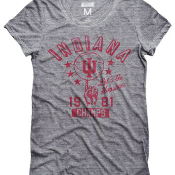 Indiana Hoosiers Basketball Women's T-Shirt
