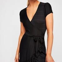 Catalina Wrap Mini Dress
